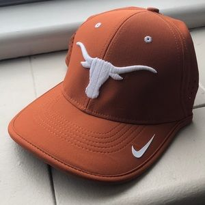 Nike Texas Longhorns Dri-Fit Hat Orange/White NWT
